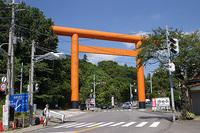 筑波山神社入口の鳥居