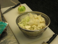 ポノポノ料理教室②!具たくさん豆乳味噌汁