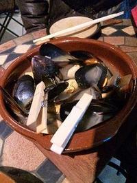 reveレク in spanish restaurant