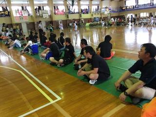 有度一招待ミニバスケットボール大会(上原カップ)2日目