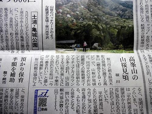 なんと高峯が動画ニュースに…茨城新聞web