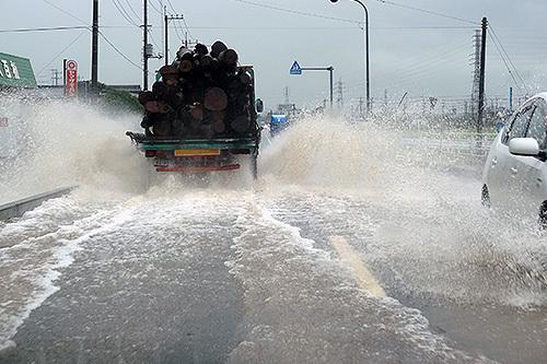 1時間に300mmという観測史上最高のゲリラ豪雨を体験してきた