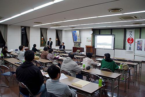 2014サクラ前線…本日「桜川のサクラ」勉強会開催!!