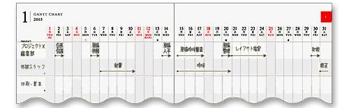 フォーマット別2015手帳選び…「マンスリー(月間)ダイアリー」