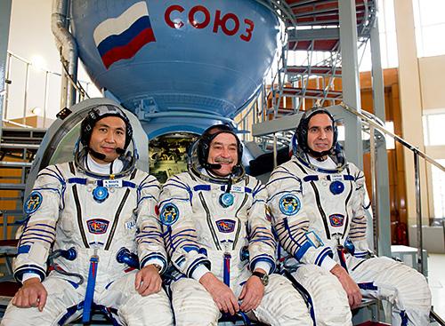 いよいよ明日、若田さん搭乗のソユーズ打ち上げ!