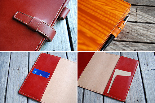 革製カバーで「ジブン手帳」をグレードアップ!!
