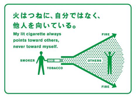 700℃の火を持つ危険性とは…JTマナーグラフィックギャラリー