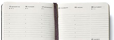 2015手帳戦線…MOLESKINEの2015年版ダイアリーは全62種類