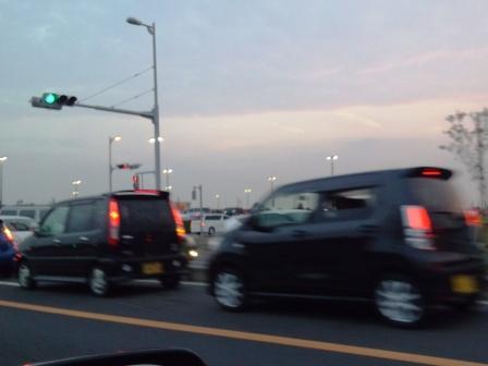 コストコオープンで大渋滞!