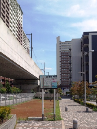 研究学園駅南口にテナントビル予定地!