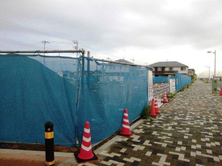 葛城西線沿いD44街区にビルが建つ!