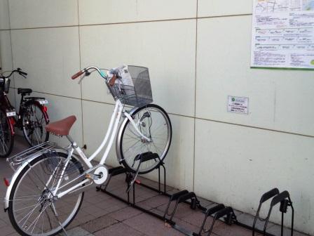 今年度も「サイクルシェアリング実証実験」を実施中!