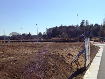 学園の森に大規模緑地と4号、5号、6号街区公園が整備中!