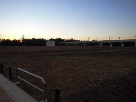 葛城地区4号近隣公園の工事が始まります!
