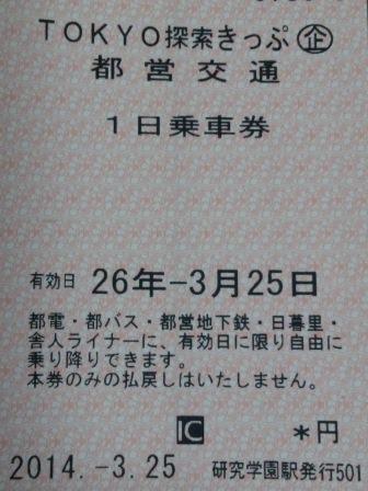 消費税増税によるTX値上げ情報(企画乗車券編)!