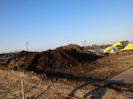 研究学園A76街区でも茨城トヨペットが何かの工事をしています!