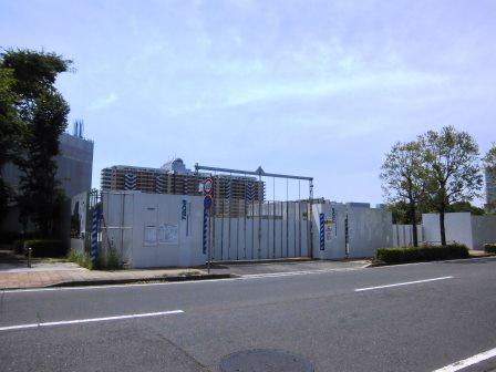 竹園のヨークタウンとマンション建設現場を見てきた!