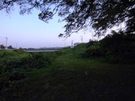 学園南 蓮沼川のほとりにひっそりと建つ弁天宮!