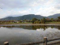 秋の北条大池!