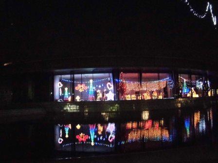 2014年冬、エキスポセンターのイルミネーション!