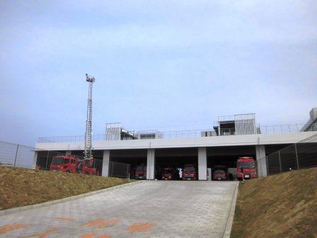 新しい中央消防署と跡地の両方を見てきた!