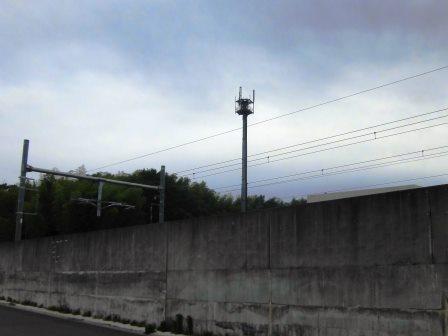 【2015年夏 圏央道建設中(1)】万博記念公園駅東側の様子!