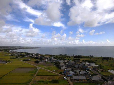 霞ヶ浦ふれあいランドの「玉造 虹の塔」から霞ヶ浦周辺を一望してきた!