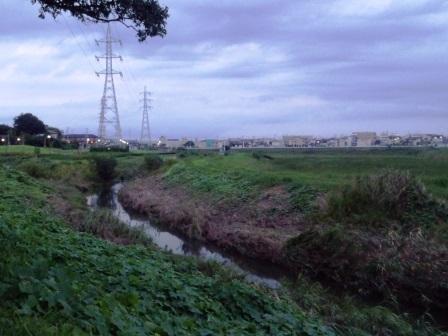 関東・東北豪雨の時には蓮沼川もすごく増水していた!