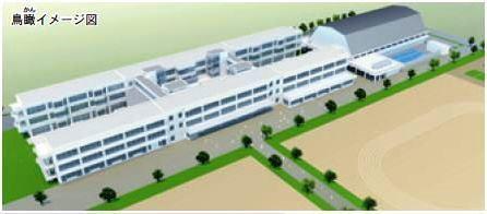 (仮称)葛城北部学園と(仮称)みどりの学園はほとんど同じ設計!