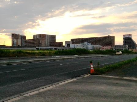 万博記念公園駅南東の大規模な土地が売出し中!