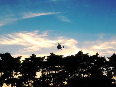 筑波メディカルセンター病院にドクターヘリが着陸!