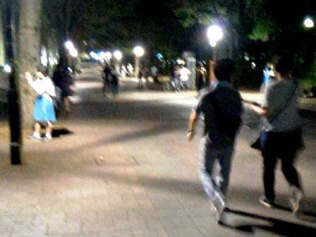ポケモンGOのおかげで中央公園は大賑わい!