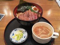 イーアスつくばの「ミートシノワ」でステーキ丼!