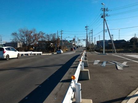 みらい平につながる道路「東楢戸台線」が来年1月23日に開通!