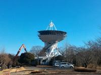 国土地理院のVLBIアンテナがもう解体されている!!!