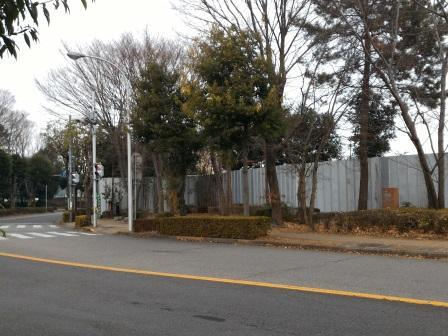 吾妻3丁目の公務員宿舎跡地が売却されて建物が取り壊されていた!