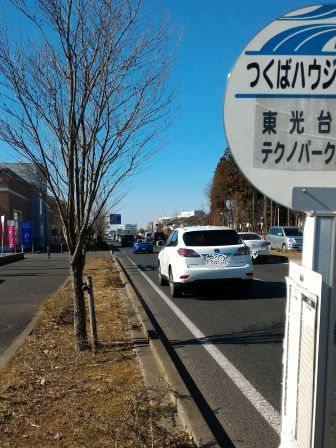 1日1本しかバスが来ないバス停が研究学園にある!