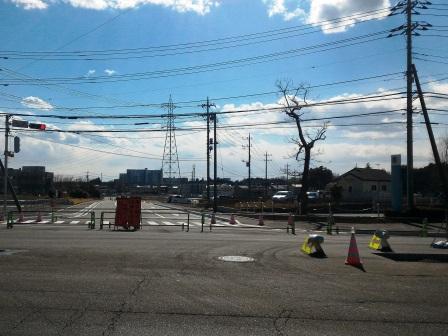葛城北線と西大通りがもうすぐつながる!