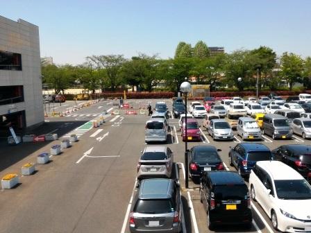 つくば駅前北1駐車場の東半分が廃止になる!