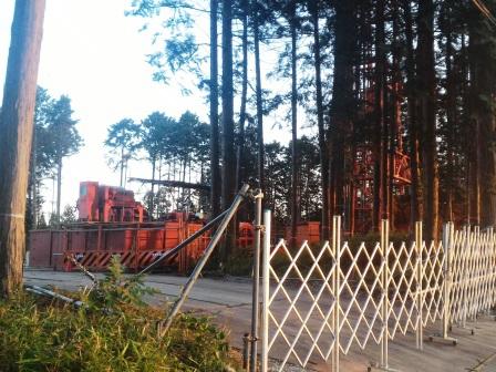 【湯楽の里?】研究学園のすぐ南で温泉掘削の工事が始まった!!!