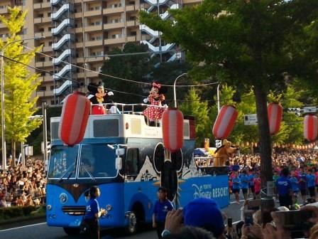 まつりつくばのディズニーのパレードに行ってきた!