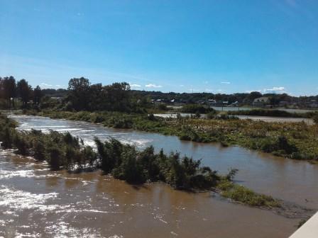 桜川が氾濫危険水位に達しそうで危なかった話!
