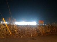 境松西平塚線沿いのBMWの明かりが明るすぎる!(その2)