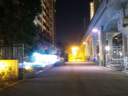 研究学園駅前とパークハウスのイルミネーションを見てきた!