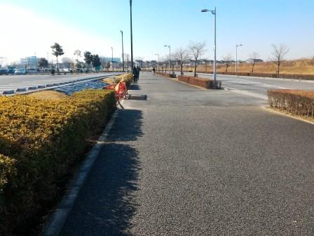 イーアスつくばの立体駐車場が完成間近!