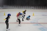 H27いばらきスポーツアカデミー「スケート体験教室」を開催しました