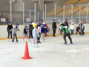 H26スケート教室(スポーツアカデミー)のお知らせ