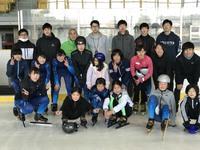 (S)シーズン最後の氷上練習