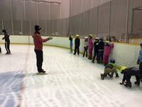 (S)スピードスケート教室1回目