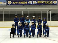 (S)笠松で氷上練習が始まりました!